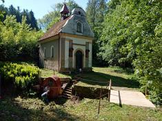Brigáda u kaple p. Marie Lourdské