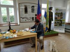 Návštěva velvyslance Chile